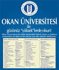 Okan üniversitesi iş fırsatları, enstitü duyurususu