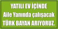 türk bayan aranıyor