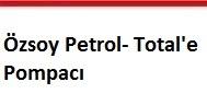 Özsoy petrol total'e pompacı