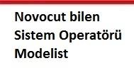 Novocut bilen sistem operatörü modelist
