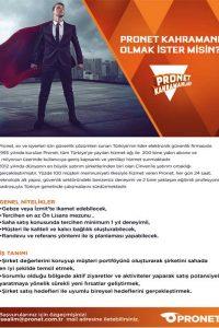 pronet kahramanı olmak ister misin?