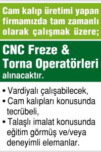 cnc freze operatörleri, torna operatörleri arayan firmalar, cnc freze operatörleri arayanlar, torna operatörleri arayanlar, cnc freze operatörleri iş ilanları, cnc torna operatörleri ilan sayfası