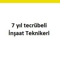 inşaat teknikeri iş ilanları