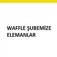 cafe elemanı, waffle işine eleman, garson, servis elemanı
