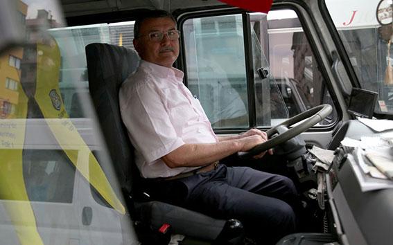 Emekli Servis Şoförleri - Avrupa Yakası