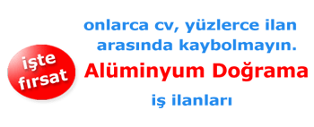 Cam Balkon Montaj | İmalat İş İlanları | İzmir