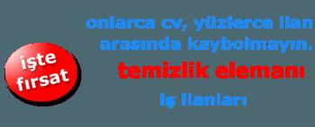 Ankara Temizlik Görevlisi İş İlanları