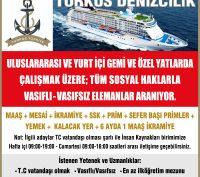 Turkos Denizcilik Gemi Elemanı İş İlanları